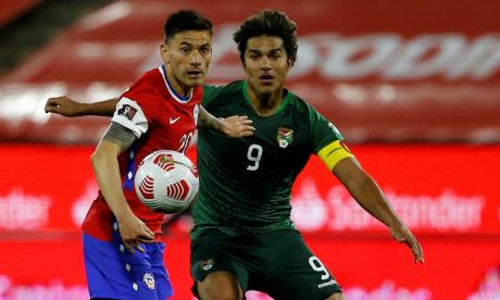 Chile 1 vs. Bolivia 1 por la Eliminatoria Conmebol