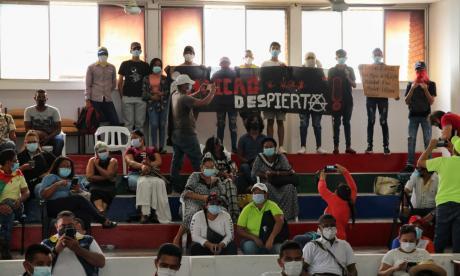 Manifestantes se toman la Alcaldía de Maicao