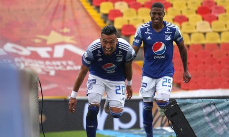 Tolima-Millonarios: primer 'round' de la final de la Liga