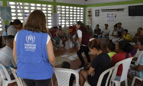 Conmemoración del Día Mundial del Desplazado