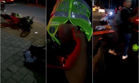Conductor que atropelló a patrullero está plenamente identificado: Policía
