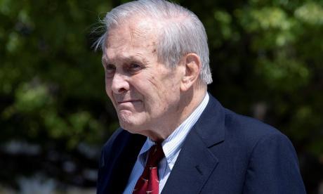 Falleció Donald Rumsfeld, exsecretario de Defensa de EE.UU.