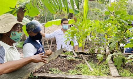 En Sucre finalizó la intervención para la estabilización socioeconómica