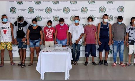 Desarticulan banda que vendía drogas en Barranquilla y Soledad