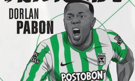 Dorlan Pabón vuelve a Nacional después de 9 años