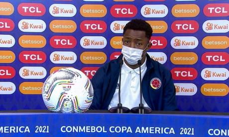 """Óscar Murillo: """"Queremos cerrar de la mejor manera la Copa América"""""""