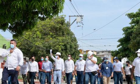 Air-e entrega obras de infraestructura eléctrica en La Unión