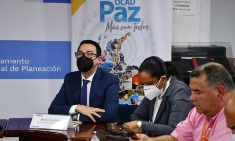 A Sucre le aprueban tres proyectos en  Ocad Paz