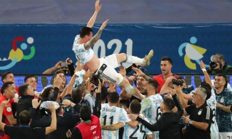Argentina volvió a gritar campeón después de 28 años