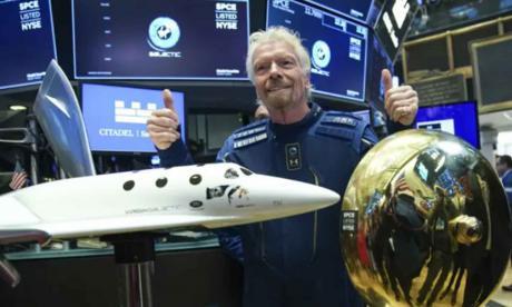 Richard Branson, un millonario pop que viaja al espacio