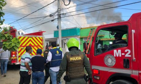 Autoridades investigan explosión en vivienda al sur de Montería