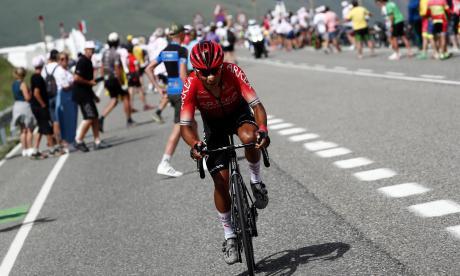 Nairo Quintana quiere ser el líder de la montaña en el Tour