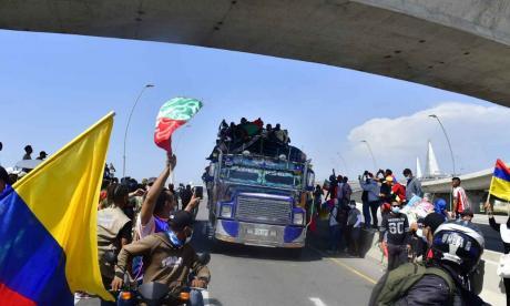 Con actos culturales esperan llegada de Minga Indígena a Barranquilla