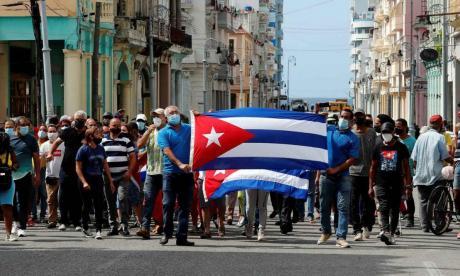 Gobierno colombiano se pronunció sobre las protestas de Cuba