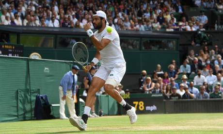 Matteo Berrettini, finalista en Wimbledon, baja para Tokio 2020 por lesión