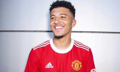 Manchester United confirmó la contratación de Jadon Sancho