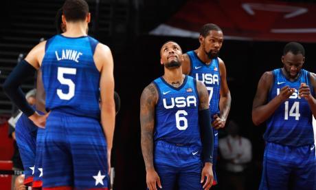 Francia derrotó a Estados Unidos en el baloncesto de Tokio