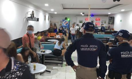 Migración rescata una menor colombiana y 11 extranjeras, presuntas víctimas de trata de personas