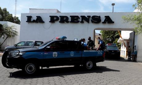 La Prensa de Nicaragua denuncia ocupación policial de sus instalaciones