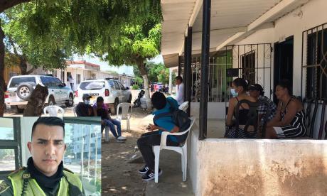 """""""Me dijo que no se demoraba"""": esposa de policia asesinado en Malambo"""