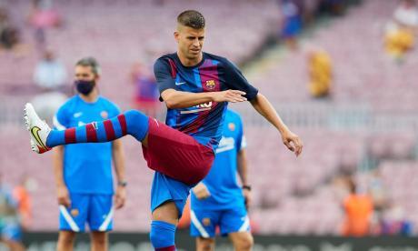 Gerard Piqué se perderá varios partidos del Barcelona por lesión