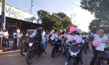 Con marcha, mujeres de La Loma clamaron justicia por brutal agresión a joven