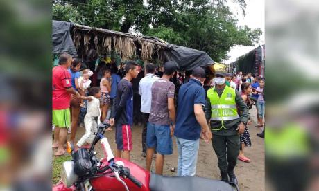 Asesinan a bala a una pareja en la Zona Bananera, Magdalena