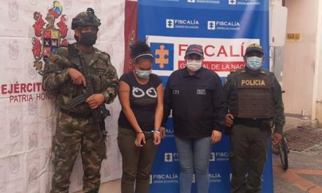 Capturan en Montería a mujer vinculada al asesinato de una menor