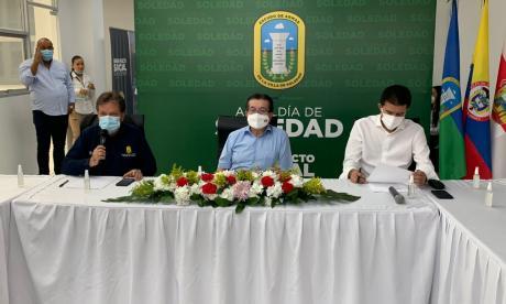 Ministro de Salud realizó PMU número 100 en Soledad