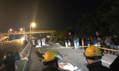 Tragedia en Gaira: conductor habría manejado sin luces y  en zigzag