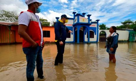 Declaran calamidad pública en 23 municipios de Bolívar