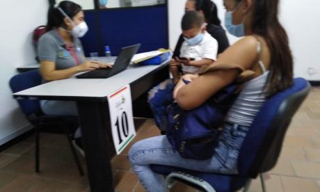 Personería Distrital inició jornada de pre-registro para migrantes