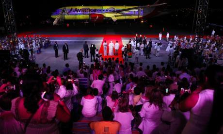 En imágenes | Así fue la despedida del Papa en Cartagena
