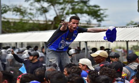 Así cruzaron a México los migrantes hondureños que se dirigen a EEUU