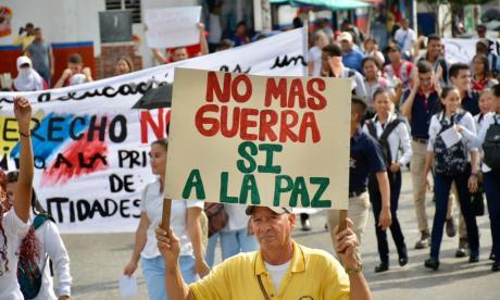 Así se desarrollaron las marchas del 4D en Barranquilla