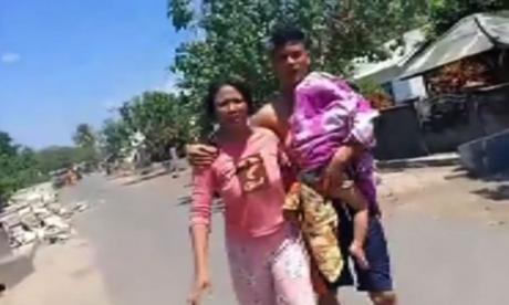 En video: Pánico en Indonesia por nuevo sismo 6,3 y 6,9 grados