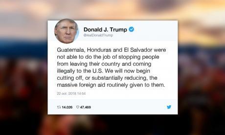 Trump corta ayuda a Honduras y Guatemala, pero migrantes avanzan