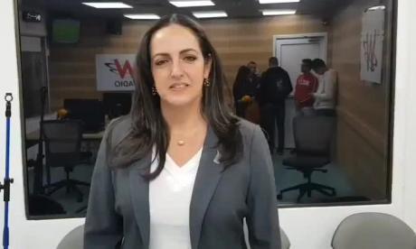 """María Fernanda Cabal vuelve a llamar """"vagos"""" a estudiantes"""