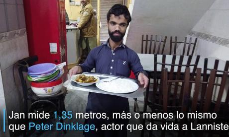 ¡Doble de actor de 'Juego de tronos' vive en Pakistán!
