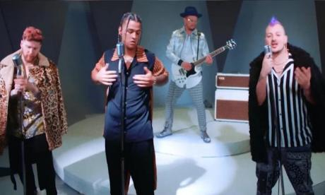 Piso 21 y Black Eyed Peas, románticos en 'Mami'