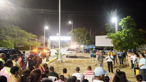 Riohacha innova con este tipo de iluminación que es amigable con el medio ambiente.