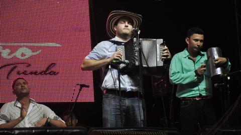 Mauricio d' Santis se coronó rey Vallenato en el Festival de la Leyenda Vallenata, en Valledupar.