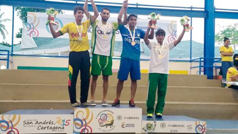 En los Juegos del Caribe, Cesar logró 52 medallas.