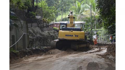 Con esta obra, la carretera dejará de ser considerada como una de las más peligrosas de la región.