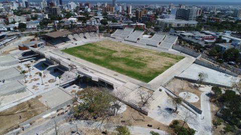 El nuevo Romelio Martínez, con capacidad para 7.100 espectadores, acogerá el fútbol masculino.