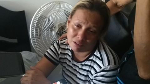 Clara Jaramillo, mamá de la niña muerta.