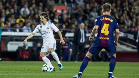 Luka Modric del Real Madrid e Ivan Rakitic del Barcelona de España, son las principales cartas del conjunto croata.