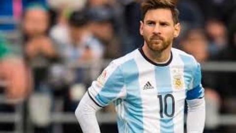 Lionel Messi, principal figura de Argentina.