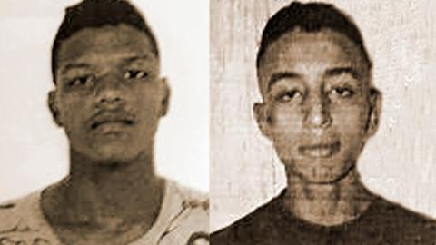 Raúl Junior Gohete De Ávila y Daniel David Bayona Blanco, capturados.