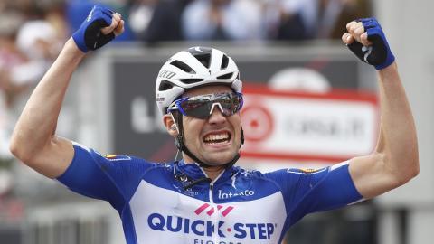 El ciclista alemán Maximilian Schachmann.